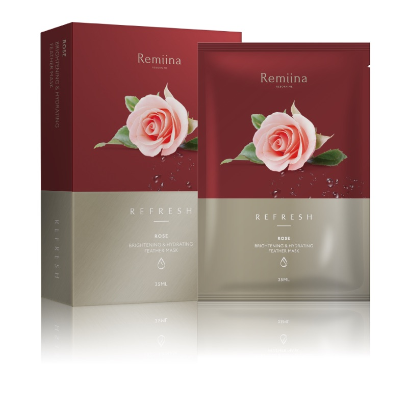 ROSE Brightening & Hydrating Facial Mask (Pack of 5)