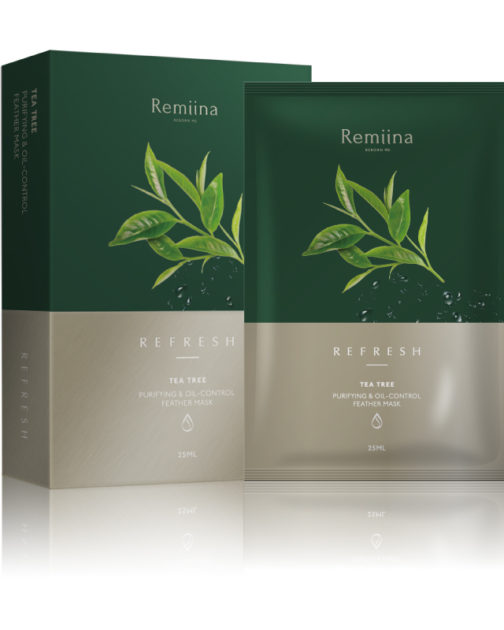 TEA TREE Purifying & Oil Control Invisible Facial Mask (Pack of 5)